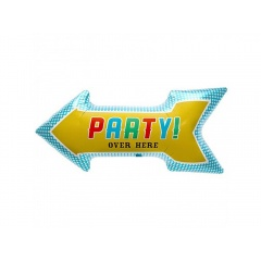 "Party! Over Here Foil Balloon 91 cm / 36"", Northstar Balloons 00405"