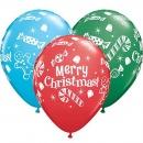 "11"" Candy and Treats Latex Balloons, Qualatex 44781"