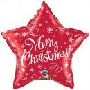 Folie 51 cm Merry Christmas, Qualatex 99806