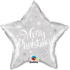 Folie 51 cm Merry Christmas, Qualatex 99818