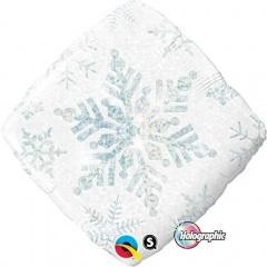 """Folie 45 cm """" Merry Christmas """", Qualatex 40091"""