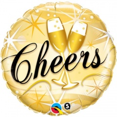 "18"" Cheers Foil Balloon, Q 19031"