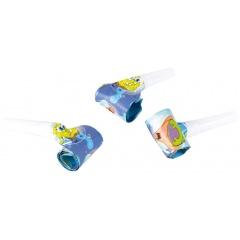 Suflatori pentru petreceri copii - SpongeBob, Amscan 997783, Set 6 buc