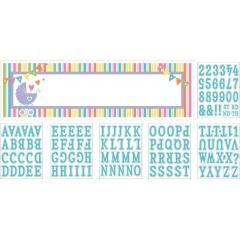 Banner decorativ pentru petrecere personalizat Welcome Baby  165.1 X 50.8cm, Amscan 120144