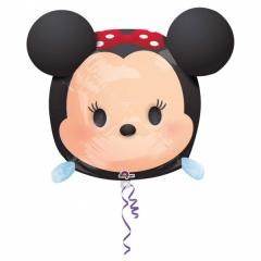 Minnie Mouse Shape Foil Balloon - 30x48 cm, Amscan 34111