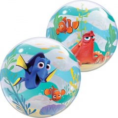 "Balon Bubble 22""/56cm Qualatex, Finding Dory, 44146"