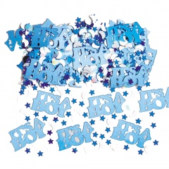 Blue Sparkle Party Confetti, Amscan 36034