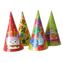 Coifuri de petrecere 20cm cu desene - Adulti, Radar 25862