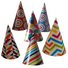 Coifuri de petrecere 20 cm cu desene, Radar 50035