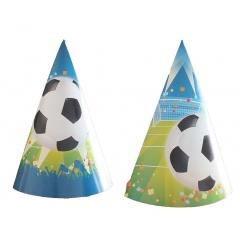 Coifuri de petrecere 20 cm cu desene fotbal, Radar 25849