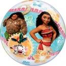"Balon Bubble 22""/56cm Vaiana, Qualatex 49078"