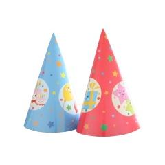 Coifuri de petrecere 20 cm cu desene aniversare, Radar 25863