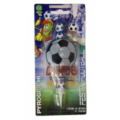 Ice Fountain Soccer, Pyrogiochi PG41058, Pack of 1 Piece