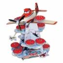 Suport prajituri 3 nivele cu Planes pentru petrecere, 30 cm, Amscan 996876, 1 buc