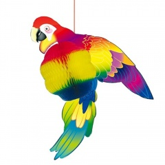 Parrot Hanging Decoration, Radar 41110, 1 piece