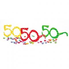 Ochelari party carton - 40 ani, Radar 50118, Set 6 buc