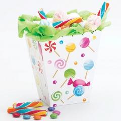 Cutie bomboane pentru candy bar - 6.5 x 8 x 15 cm, Radar 41275, Set 4 buc