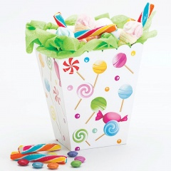 Cutiuta pentru candy bar - 6.5 x 8 x 15 cm, Radar 41275, Set 4 buc