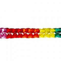 Ghirlanda decorativa hartie multicolora - 3 m, Radar 54562