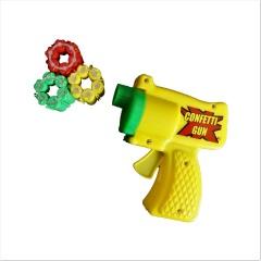 Pistol cu confeti, 6 trageri +3 cartuse, Radar 34621