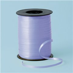 Lilac Curling Ribbon 5mm x 500m, Qualatex 25902, 1 Roll