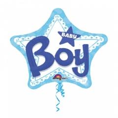 Balon Folie Figurina 81 cm Stea Baby Boy, Anagram A30922