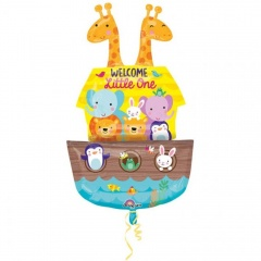 Balon Folie Figurina Welcome Little One - 68 x 109 cm, Amscan 34244