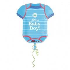 Balon Folie Figurina It's A Baby Boy - 55 x 60 cm, Amscan 30912