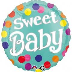 Balon Folie 45 cm Sweet Baby, Amscan 35200
