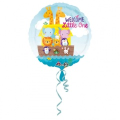 Balon Folie 45 cm Welcome Little One, Amscan 34460