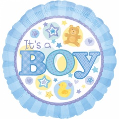 Balon Folie 45 cm It's a Boy, Amscan 15820