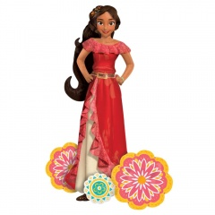 Folie Figurina AirWalker Elena of Avalor - 96 x 137 cm, Amscan 34259