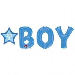 Pachet Baloane It'S A Boy, Amscan 30956, set 5 bucati