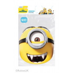 Masca Party Minion - 21 X 22 cm, Radar RUMIGON 01