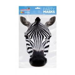 Masca Party Zebra - 29 X 16,Radar RUZEBRA 01