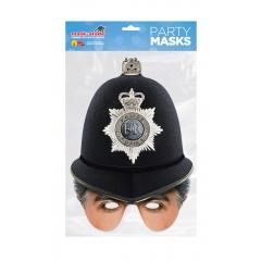 Masca Party Cascheta Politist Britanic - 25 X 21, Radar POLIC01