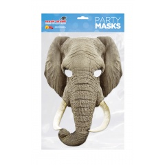 Masca Party Elefant - 29 X 21 cm, Radar ELEPH01
