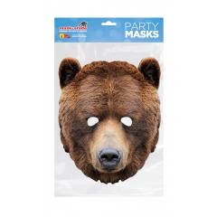 Masca Party Urs - 25 X 21 cm, Radar RUBEAR0 01