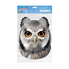 Masca Party Bufnita - 25 X 21 cm, Radar RUOWL00 01