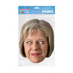 Masca Party Theresa May - 26 X 21 cm, Radar RUTMAY0 01
