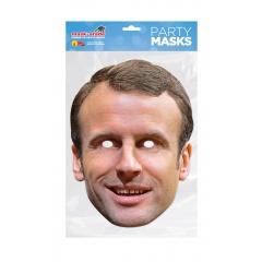 Masca Party Emmanuel Macron - 28 X 20 cm, Radar  RUEMACR 01
