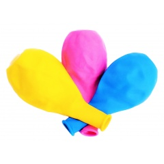Latex Balloons with led - 25 cm, Radar 100964, 3 pieces