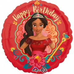 Balon Folie 45 cm Elena of Avalor Happy Birthday, Amscan 33201