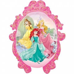 Balon Folie Figurina Princess - 69 cm, Amscan 32916