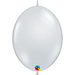 Balon Cony Diamond Clear 6 inch (15 cm), Qualatex 90382
