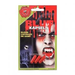 Capsule sange fals pentru Halloween, Radar 52946, set 3 bucati