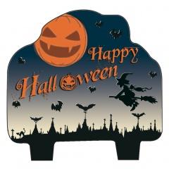 Lumanare figurina Happy Halloween - 9 cm, Radar 52642