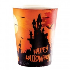 Pahare carton Happy Halloween, Radar 52994, set 10 bucati