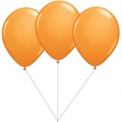 Buchet din 3 baloane latex orange cu heliu, Gemar BB.G90.ORANGE