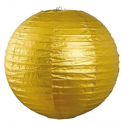 Felinar decorativ auriu Revelion - 25 cm, Radar 41194, 1 bucata